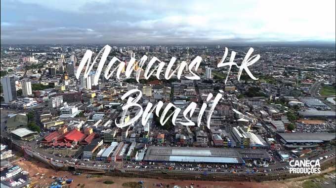 Vídeo Manaus 4K