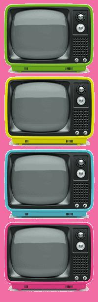 TVs coloridas